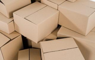 photo of empty boxes